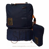 [WAIST BAG] TAS EIGER 5346 PORTMANTEST NAVY - TAS MULTIFUNGSI BACKPACK/ SELEMPANG