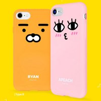 Kakao Friends Face Soft Jelly Case Galaxy S8/S8 Plus/Galaxy S7/S7 Edge/Galaxy Note 5/LG G6 Case