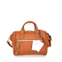 Tas Import Anello Boston 2Way Leather PU Small - Orange