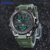 CASIO G-SHOCK Jam Tangan Pria Dualtime Analog Digital Mudmaster GWG1000/GREEN