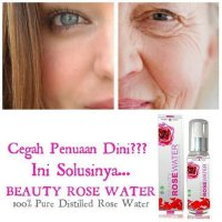 BEAUTY ROSE WATER / AIR MAWAR ASLI / SEPERTI BIO SPRAY