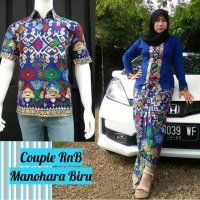 Couple RnB kutubaru manohara batik pekalongan