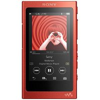 Sony Walkman with High Resolution Audio NW-A35 - Red