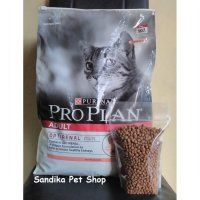 Makanan Kucing / Cat Food PROPLAN REPACK SALMON 500 Gram ( ADULT )