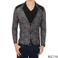 Men Semi Formal Blazer Stretch Grey – BLZ 710