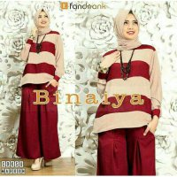 FASHION MUSLIMAH HIJAB BINAIYA / BINAIYA / SET BINAIYA / 3 IN 1 / HIJAB BINAIYA DD /BMCG169