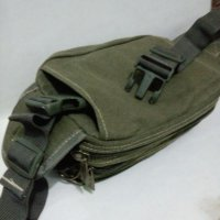 [WAIST BAG] CANVAS MILITARY MESSENGER SHOULDER BAG - TAS SELEMPA [PROMO]