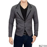 Jas Semi Formal Pria Stretch Grey – BLZ 723