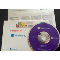 Windows 10 Professional 32/64 Bit CD Package (Original Simple Pack)