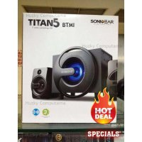 Hot Promo Speaker Aktif [SONIC GEAR] NEW TITAN 5 BTMI Multimedia Speaker FM Radio, USB, Memory