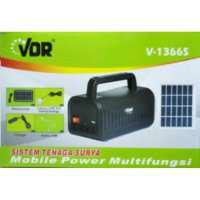 Power Bank Solar +LAMPU + MP3 SJ0055