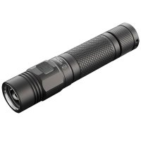 Senter Flashlight Jetbeam With Cree XP-L Up to 1080 Lumens - Black