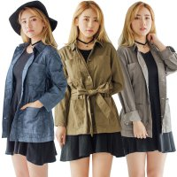 [S4 COUP] WOMEN SLEEVE PARKA/3 COLORS_JACKET WANITA/KOREAN BRAND