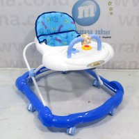 Family FB136 Roller Toy Baby Walker Alat Bantu Jalan Bayi Blue