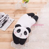 Boneka Bantal Cute Animal Black White Panda Sleeping Pillow