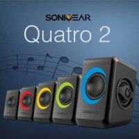 Hot Promo Speaker Aktif Speaker Sonic Gear quatro2/ SonicGear quatro 2 /Speaker pc,Laptop