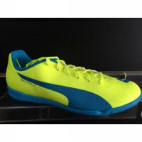 sepatu futsal puma evospeed 5.4 it stabilo biru 2016 new original 100%