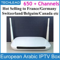 [globalbuy] Android tv box Q9 two Antenna strong wifi Android APK QHDTV VOD European IPTV /2018371