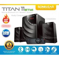 Hot Promo Speaker Aktif [SONIC GEAR] Speaker TITAN 11 BTMI BLUETOOTH, USB, FM dan MMC. Komplit