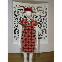 Baju Fashion Wanita Terusan Cheongsam Mini Dress Imlek Qi pao Chiphaw Import best seller