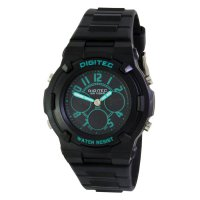 Digitec Digital Watch DG3020T Black Green Jam Tangan Wanita - Hitam