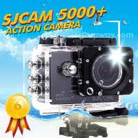 Kamera SJCAM SJ5000 Plus Original WiFi, Action Camera, Wifi Ambarella A7LS75 1080P 60FPS