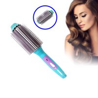 Catok Sisir Nova NHC-8810 - Hair Auto Straightener Salon Designer Volume Blow/Natural Blow