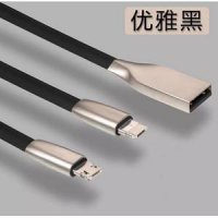 Kabel Micro Usb Zinc Alloy Rhomb Fast Charging Android & iPhone