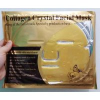 Collagen Crystal Facial MASK ( masker muka /wajah TOPENG)