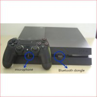 Audio Sound System / Speaker & Mic. Mini USB Bluetooth Dongle Headset for Playstation PS4