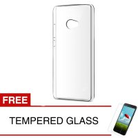 Crystal Case for Xiaomi Mi Note 2 (5.7 inch) - Clear Hardcase + Gratis Tempered Glass