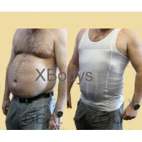 Slim n Lift Body Shaping For Man Slimming Shirt For Men- Slim Fit Baju Singlet / Korset Pelangsing