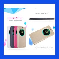 Asus Zenfone 3 Deluxe 5.7 Nillkin Sparkle Leather Case Casing Cover