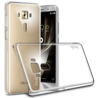 Imak Crystal II Hard Case Casing Cover for Asus Zenfone 3 Deluxe 5.7 ZS570KL - Transparan