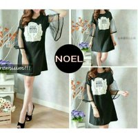 TENABANG OFFICIAL | Mini Dress Noel Spandex | Fit to L | VAL280R | Pakaian Atasan Wanita Terbaru