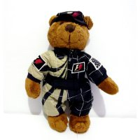 Boneka Teddy Bear Original F1 Driver Costume Formula One