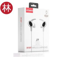 Vivan S9 Bluetooth V4.1 Sport Wireless Headset White