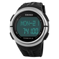 SKMEI DG1058 Sport Watch Pedometer Heart Rate Tracking - Jam Tangan