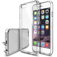 Clear Premium Crystal Bumper Case with Back Case for IPhone 6s 4.7''