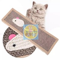 Mainan kucing papan garukan cat scratcher pad board PET4133