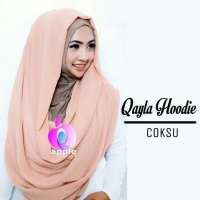 Qayla Hoodie by Apple Hijab Hijab Insta KODE DF6943