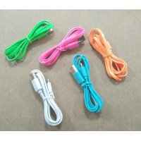 Kabel Hippo Caby Micro Candy warna gepeng / For bb, samsung, dll