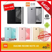 XIAOMI REDMI NOTE 4X 64GB Ram 4GB ( Black,Gold,Grey,Rose Gold,Blue ) garansi 1thn
