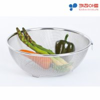 The hygienic stainless steel with round basket Special chaemang I do not have to worry about environmental hormones pumping vegetable basket wicker tray stainless steel