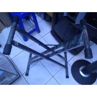 stand keyboard double yamaha stand piano techno casio korg kaki doble