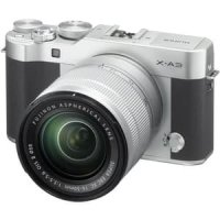Fujifilm X-A3 Kit 16-50mm - Silver Inter Garansi Distributor