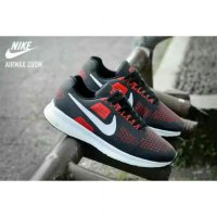 Sepatu Sports Nike Airmax Zoom Black Red