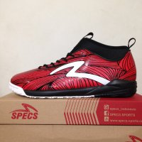 Sepatu Futsal Specs Barricada Ultra IN Emperor Red 400531 Original