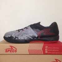 Sepatu Futsal Specs Metasala Combat Cool Grey Black 400599 Original