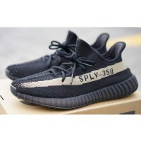 Adidas Yeezy Boost 350 V2 Core Black/Core Green Originals - SOLE FEST 2017
